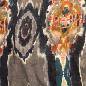 """Anthropologie Ikat curtains 96x50"""" (2 panels)"""